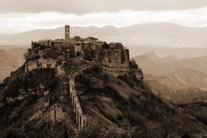 Island of Stone, Civita di Bagnoregio, Italy