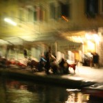 Painting the Night, Venice, Italy