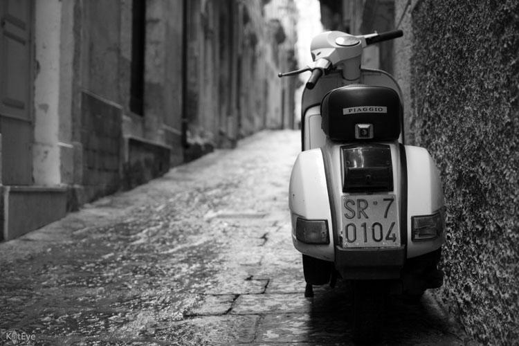 Piaggio, Ortygia, Italy