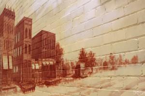 Frontier Town Mural, Old Colorado City, Colorado