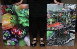 Kat Sloma Self-portrait with Nature of Oregon prints