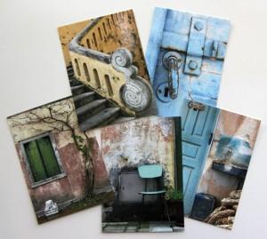 Texture Postcard Set