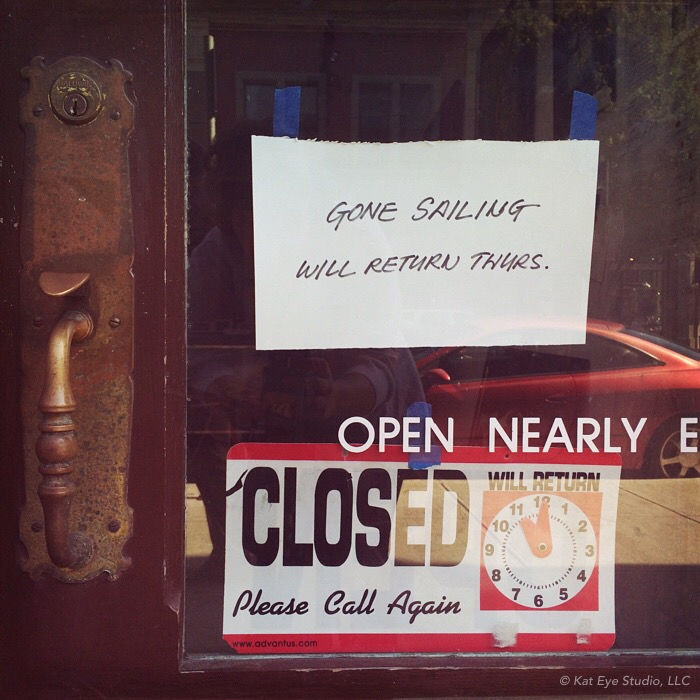 Closed Shop in Port Townsend