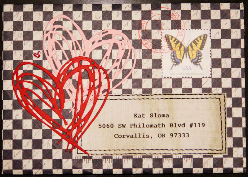 Liberate Your Art Postcard Swap